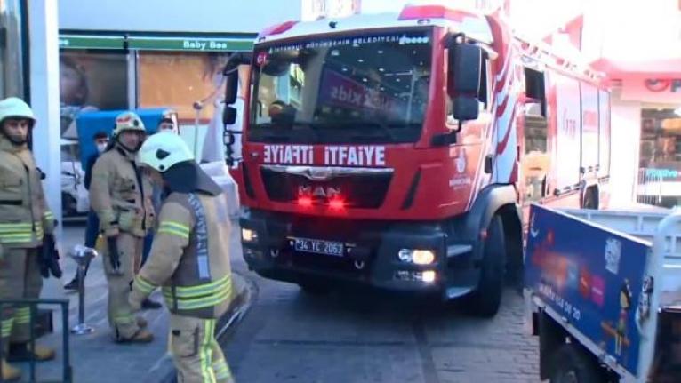 Gaziantep'te iplik fabrikasında yangın çıktı:12 işçi dumandan etkilendi