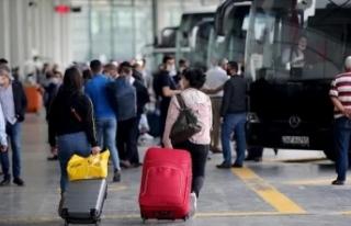 Doluluk yüzde 90'a ulaştı: Otobüsçüler...
