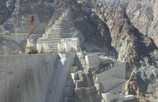 Artvin Yusufeli Barajı'nda sona gelindi! 2023 yılı...
