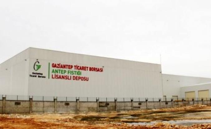 Türkiye'nin ilk ve tek Antep fıstığı lisanslı deposu Gaziantep'te açılıyor